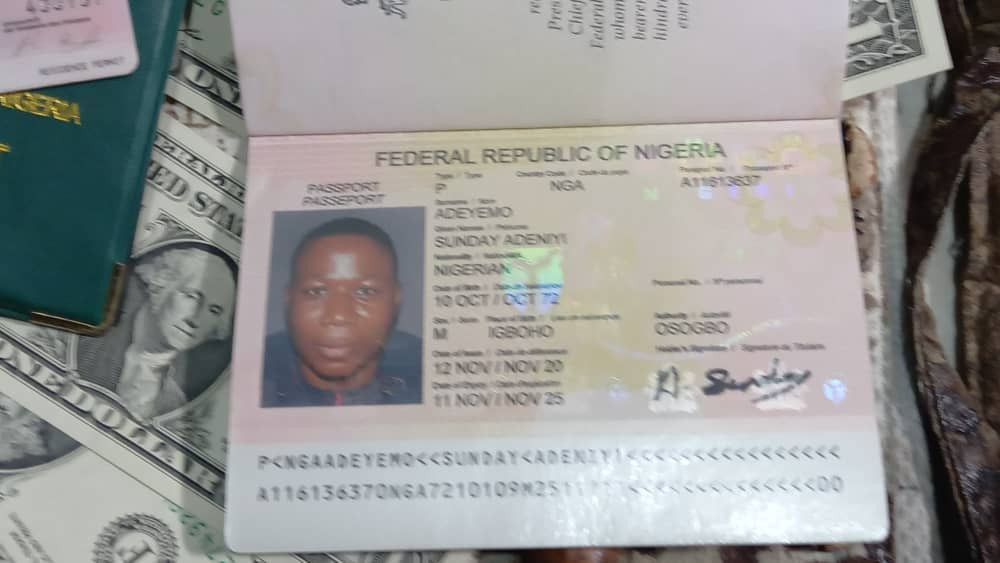 DSS declares Sunday Igboho wanted, parades his 'Foot Soldiers' and arms allegedly recovered from his residence (photos)