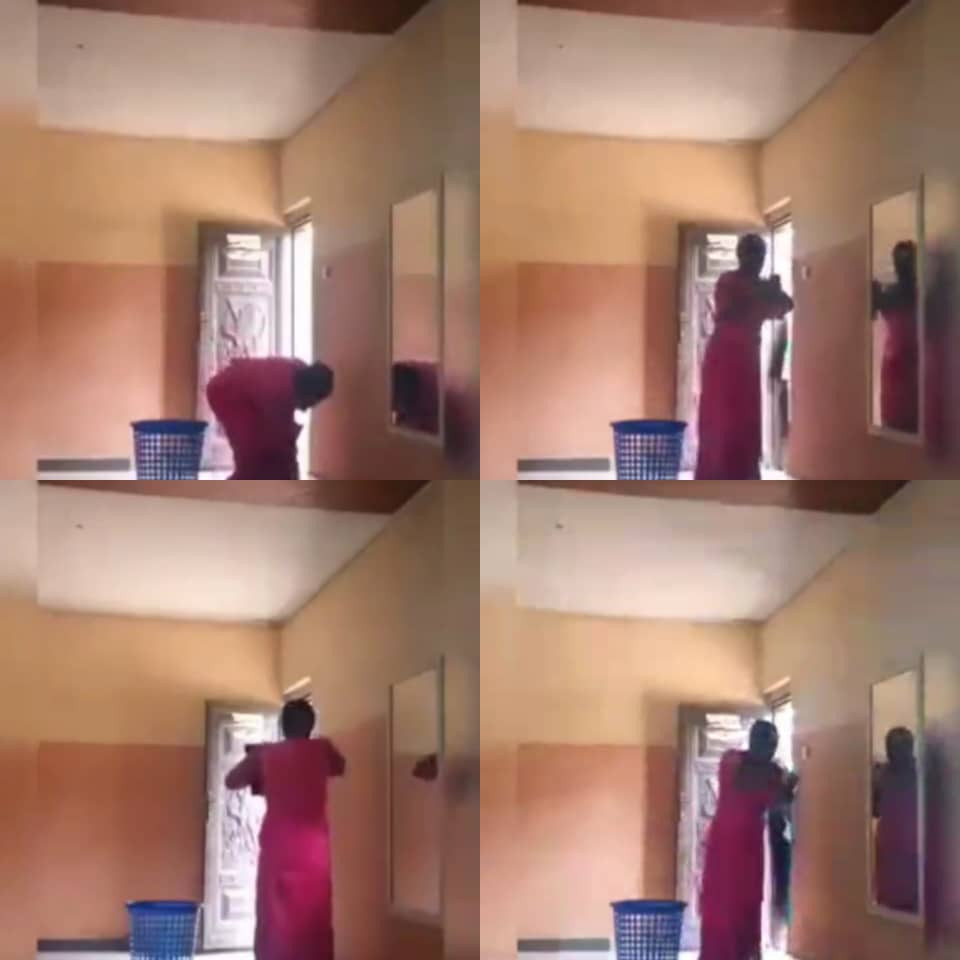 Woman caught on camera stealing money from a church