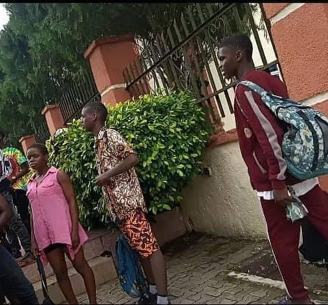 Secondary school students caught swimming in hotel during school hours in Calabar