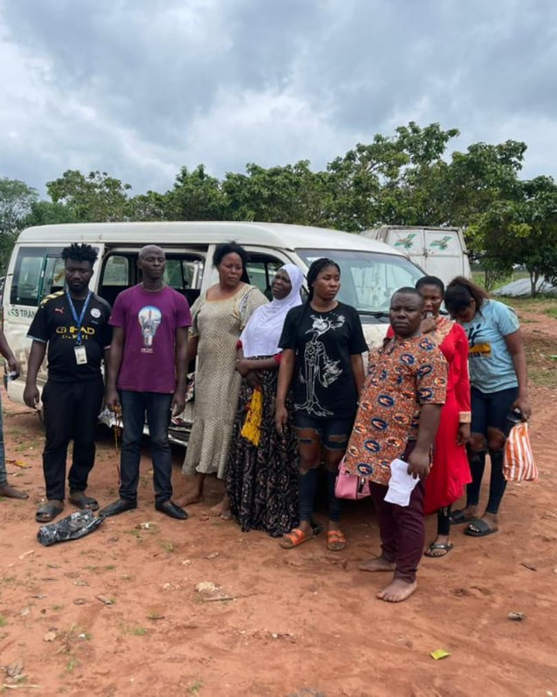 Police rescue nine abducted travellers after gun duel with kidnappers in Edo