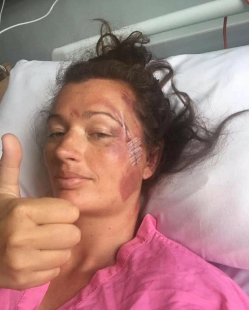 Woman miraculously survives after falling 60ft off cliff edge and landing on rocks