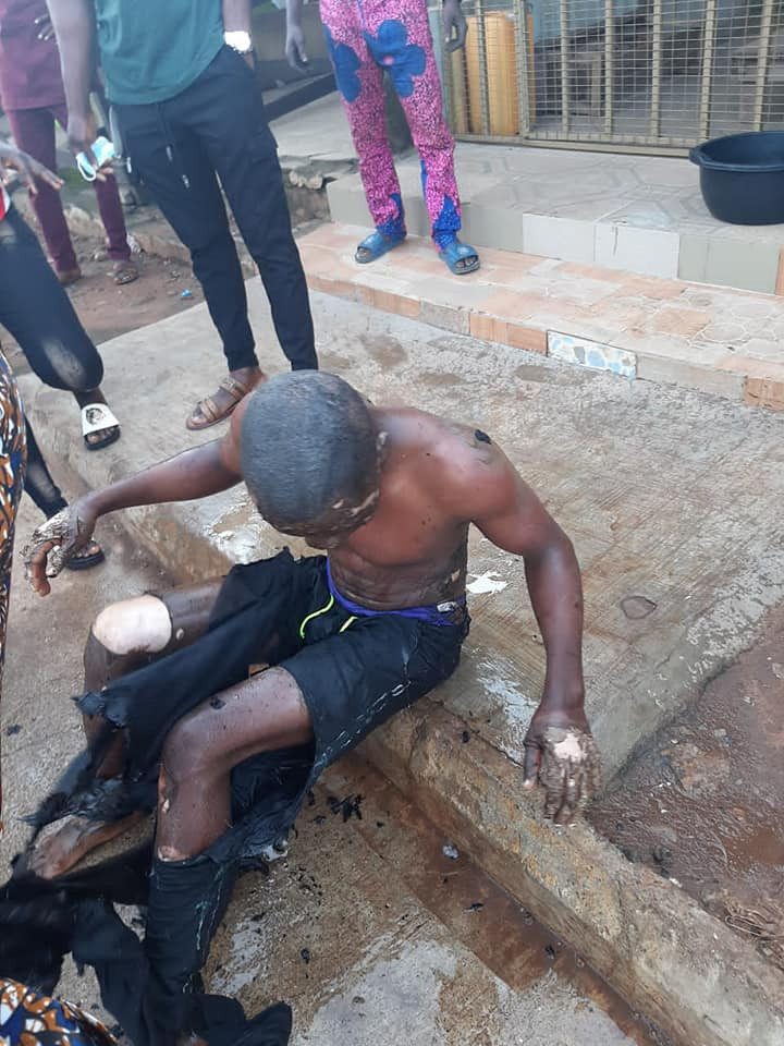 Pictures: See how gas explosion killed one and injured two others in Ijebu-Ode