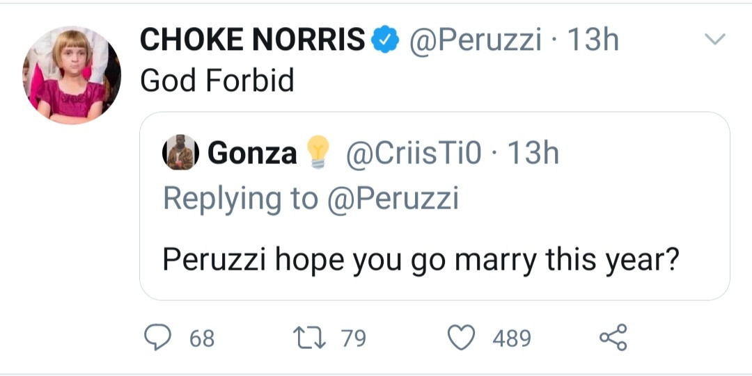 """""""God forbid"""" Singer, Peruzzi rejects the idea of getting married this year"""
