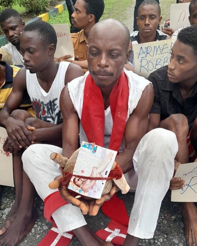 Cross River Pastor nabbed with human skull (photos)