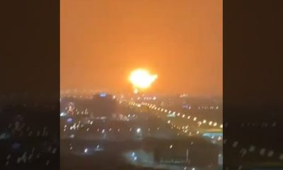 Large explosion in Dubai after Container ship catches fire (photos/video)