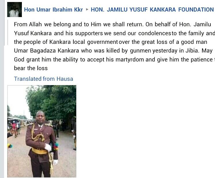Bandits kill two Immigration officers in Katsina