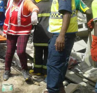 Adolescent boy dies in building collapse in Lagos