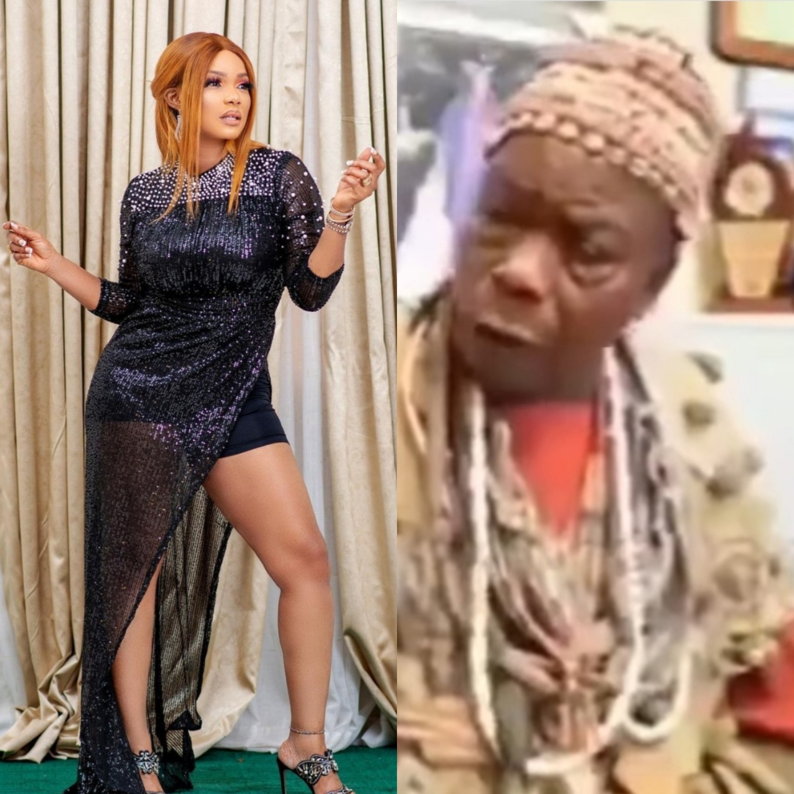 Iyabo Ojo speaks as elderly man grants interview calling her a prostitute and saying she will