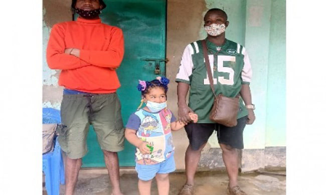 Three Nigerians including 3-year-old girl detained for illegally entering Bangladesh from India