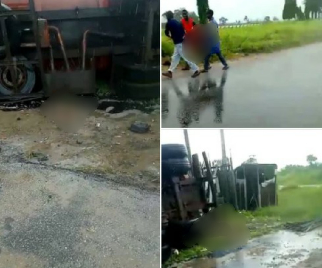 Update: Mother loses four children in tanker accident in Delta, another lost three children