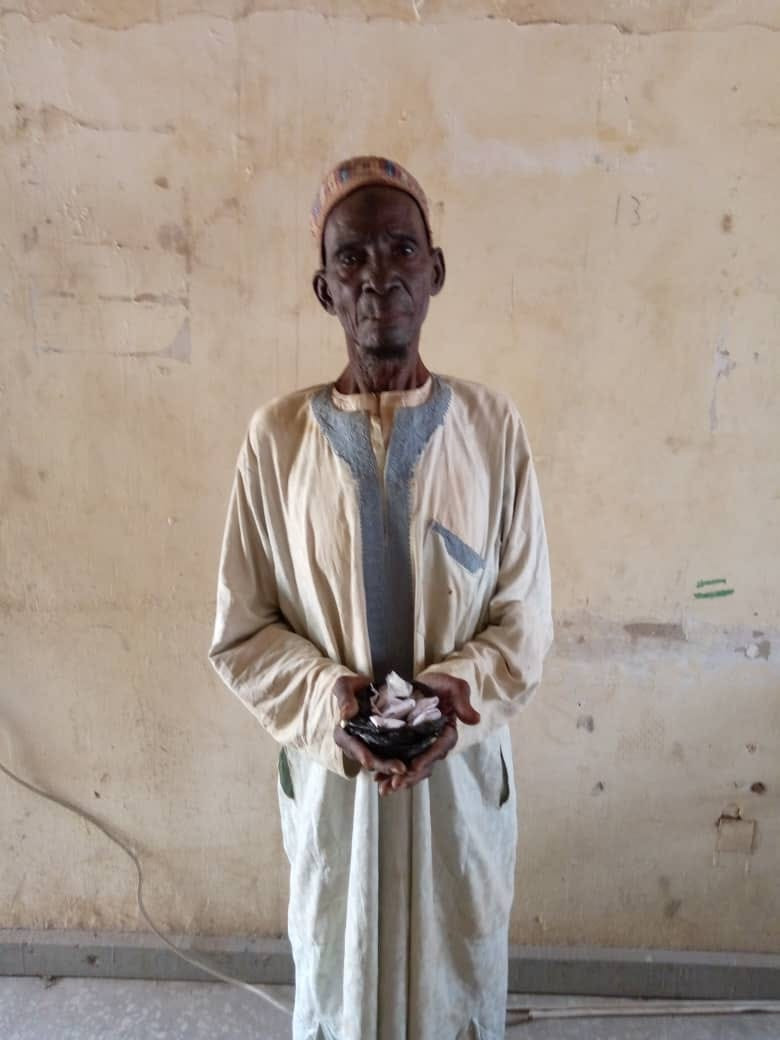 90-year-old man arrested for selling drugs to youths in Katsina