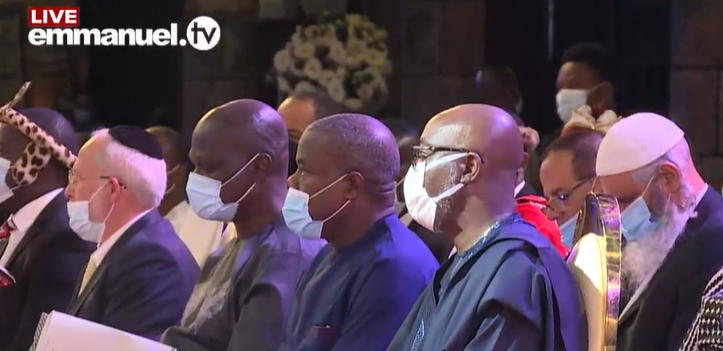 First photos from the funeral service of late Prophet T.B Joshua