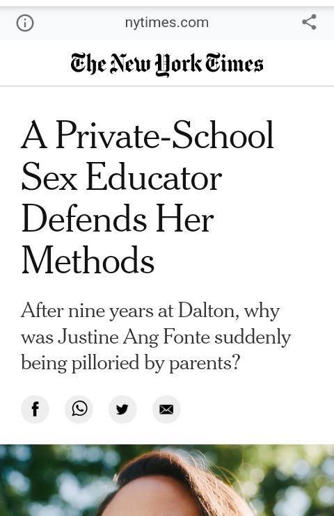Parents blast New York Times magazine as?