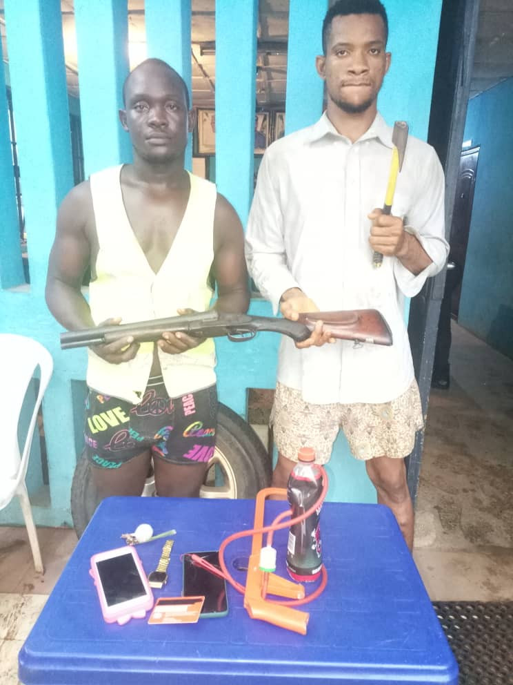 Imo police arrest Nekede Polytechnic student and his gang member for alleged armed robbery