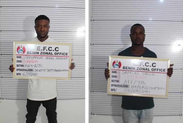 Court jails two internet fraudsters in Benin