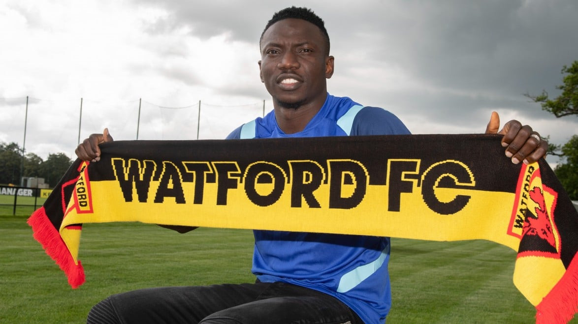 Super Eagles midfielder, Oghenekaro Etebo joins Watford on loan from Stoke