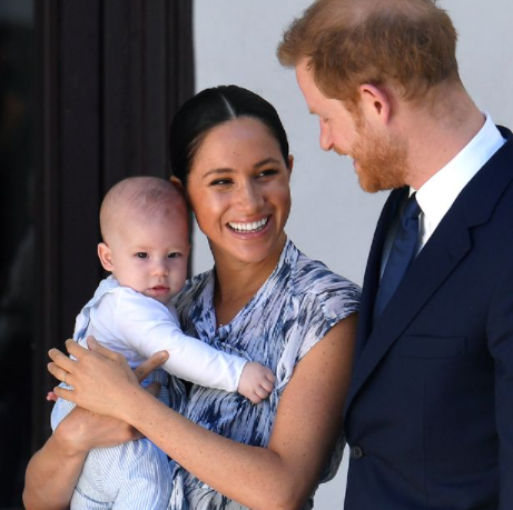 Harry and Meghan Markle receive charity award for