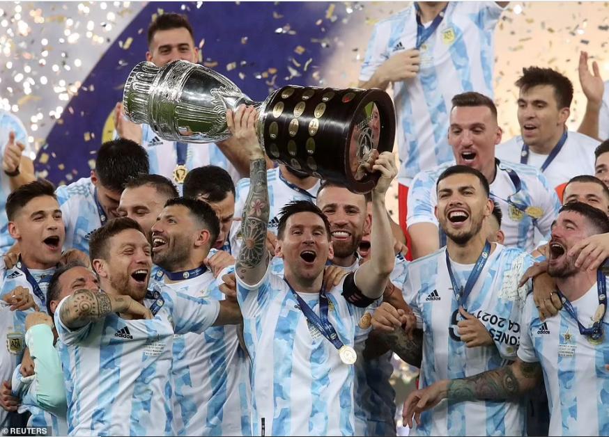 Lionel Messi finally wins major international trophy as Argentina beat Brazil 1-0 in Copa America final