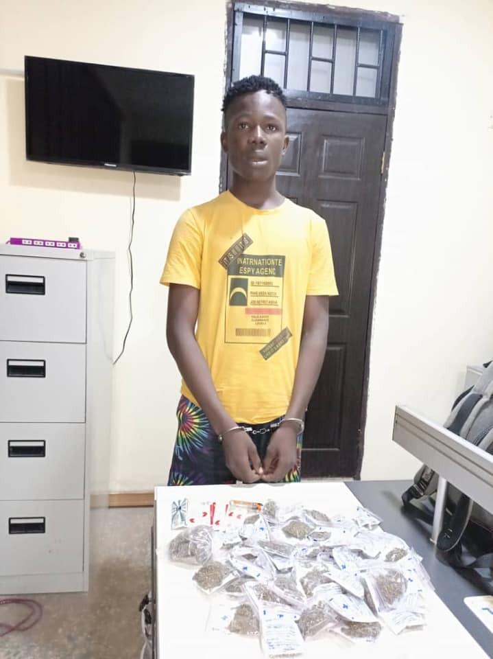 17-year-old illicit drug dealer arrested in Delta
