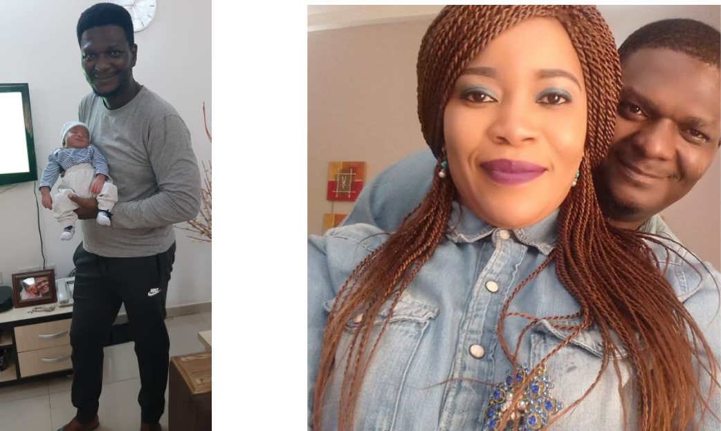 After 11 years of marriage, a Nigerian lawyer and pastor celebrates becoming a parent