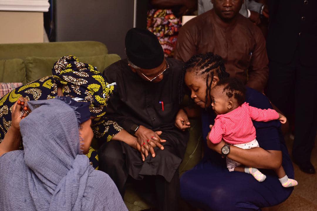 Gov El-Rufai pays condolence visit to wife of deceased ex-deputy governor, Barnabas Bala