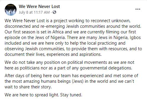 DSS allegedly arrests and detains Israeli filmmakers for