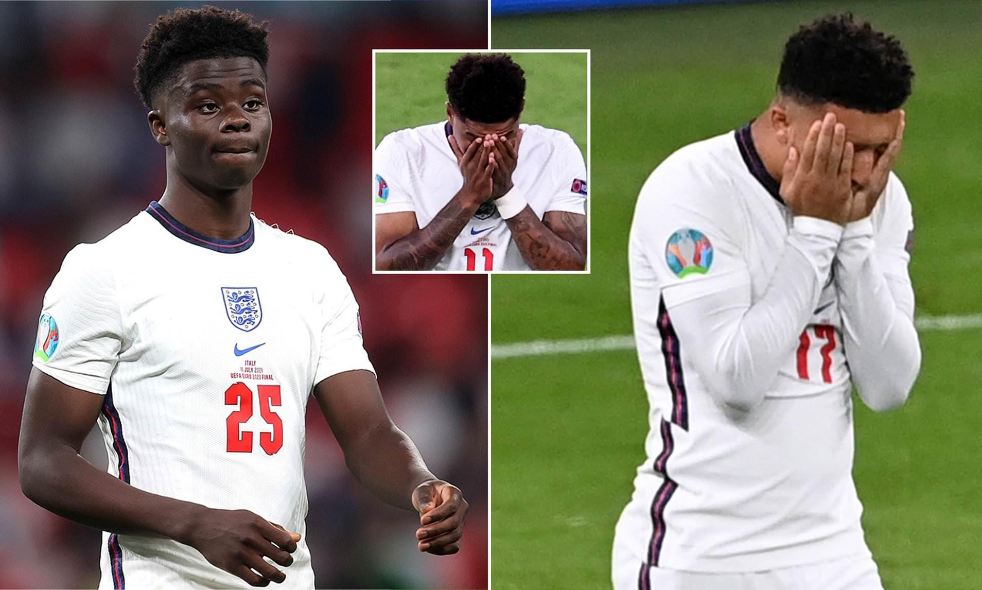 FA to offer Bukayo Saka, Jadon Sancho and Marcus Rashford option to pursue criminal action over ?racial abuse