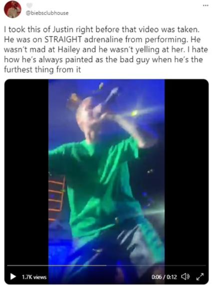 Hailey Bieber breaks silence after video of Justin Bieber