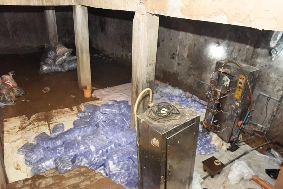 Lagos state govt seals up 30 substandard sachet water factories (photos)