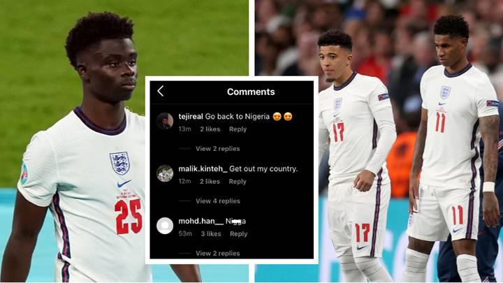 EURO 2020: Four arrested over online racist abuse of England trio Marcus Rashford, Jadon Sancho and Bukayo Saka