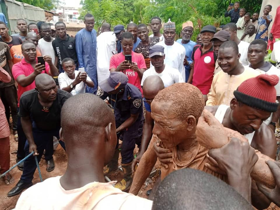 Man rescued after falling into well he was drilling in Sokoto