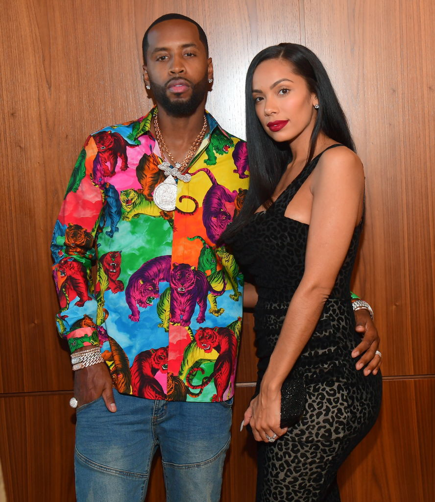 Safaree Samuels accuses estranged wife Erica Mena of destroying his bikes and sneakers worth $50,000 in new court filing