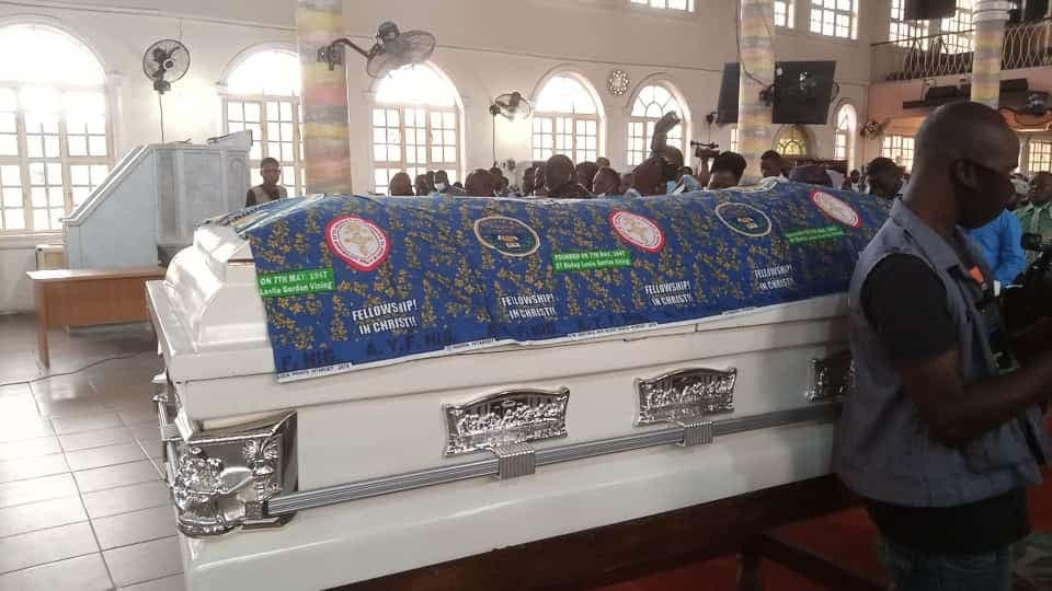 Tears as journalist killed during Ondo bank robbery is buried in Akure