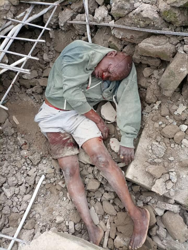 Landlord killed as 2-storey building collapses in Lagos