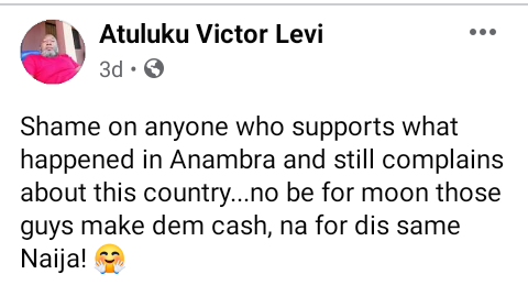 """Obi Cubana: """"Shame on anyone who supports what happened in Anambra and still complains about this country"""" - Governor Yahaya Bello"""