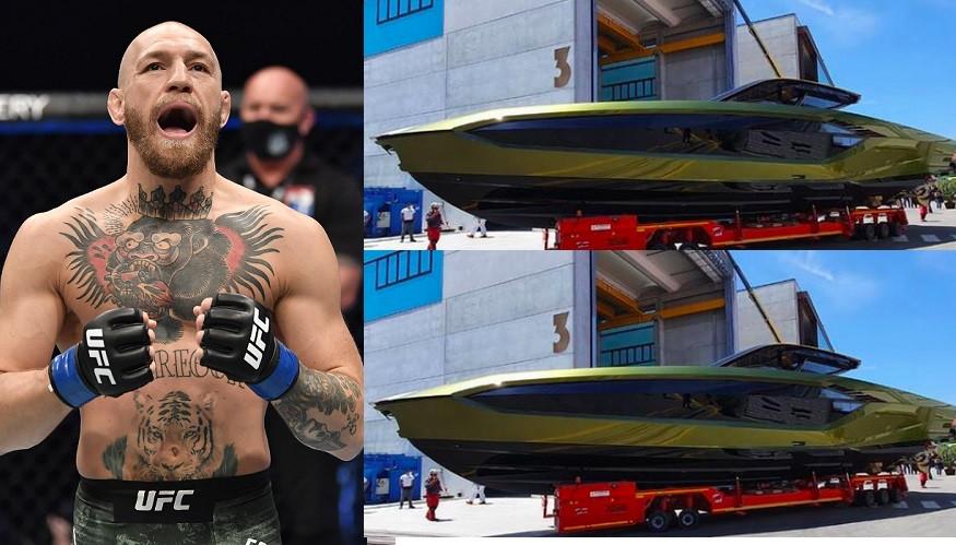 UFC star, Conor McGregor buys ?2.6m Lamborghini yacht after Dustin Poirier defeat (photo)