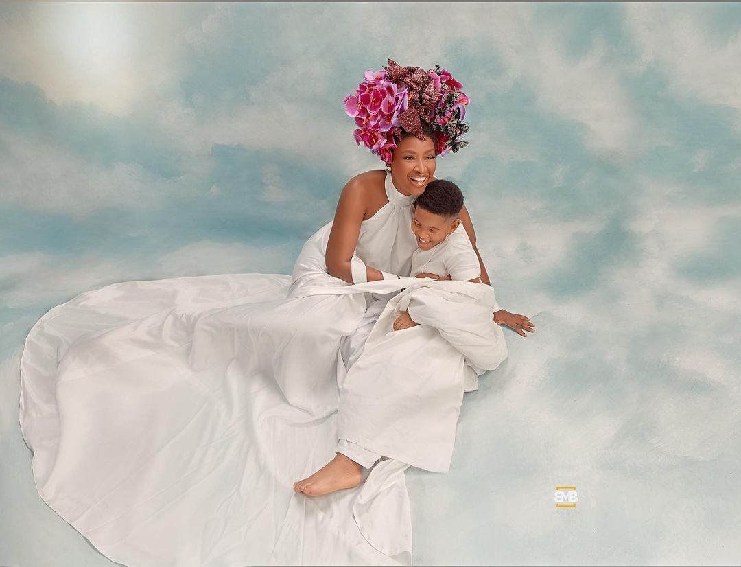 Stunning photos of actress, Chinonso Arubayi, and her son, Jayden