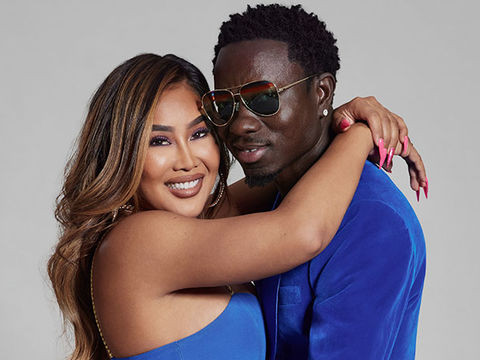 Comedian Michael Blackson proposes to his girlfriend, Rada during a radio show (video)