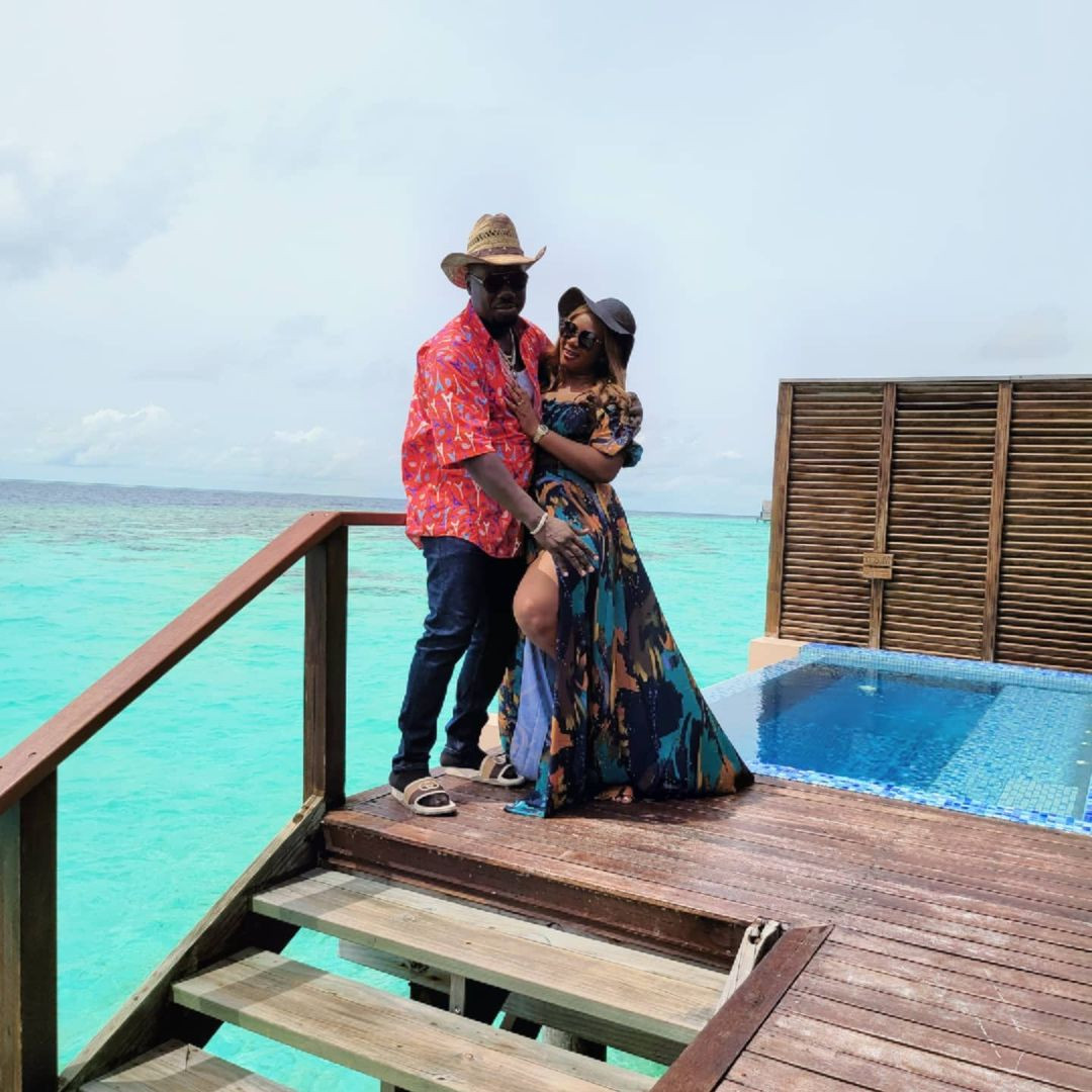 Obi Cubana and wife vacation in Maldives Islands days after staging a