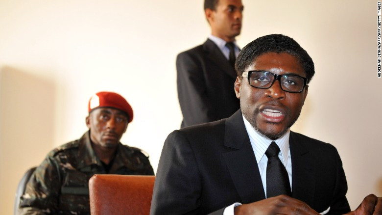 UK sanctions Equatorial Guinea leader