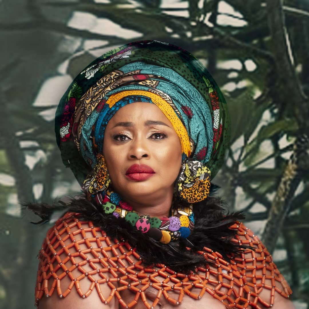 Actress Clarion Chukwurah goes topless for her birthday photoshoot