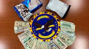 Man and woman arrested after police found Cocaine worth $200,000 disguised as a cake in their vehicle (photos)
