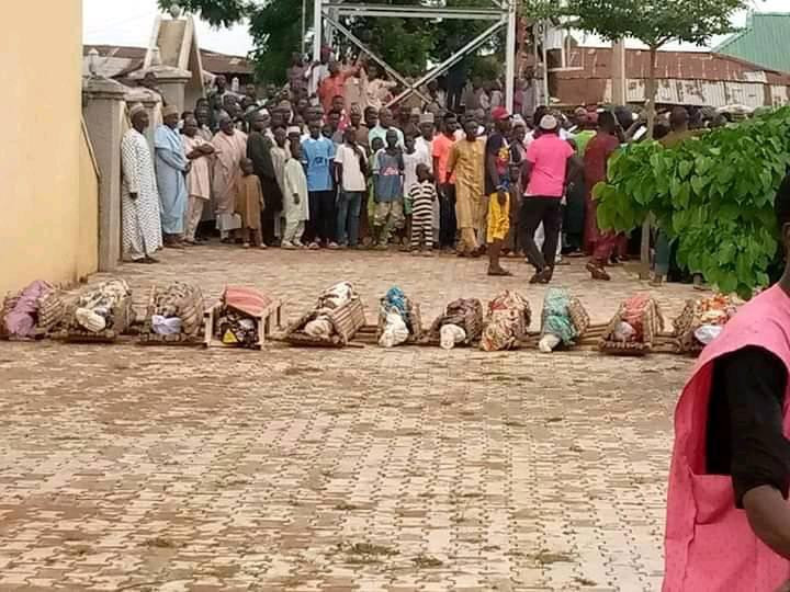 Six family members, 12 others killed in Kano motor accident