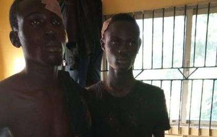 Police arrest two suspected cultists in Lagos, recover weapons?(Photo)