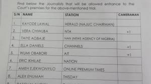 FG approves only 10 media houses and journalists for Nnamdi Kanu