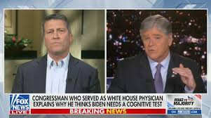 """'""""He's completely LOST it! Biden will be forced to resign - Former White House doctor, Ronny Jackson predicts as he questions US President's cognitive ability. 49"""