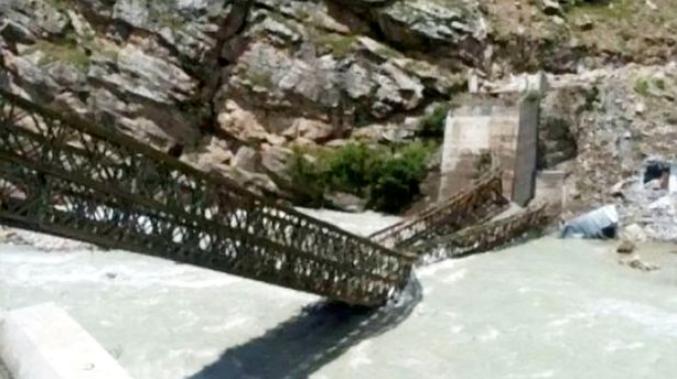 Nine tourists killed as huge boulders rain down on them during catastrophic landslide