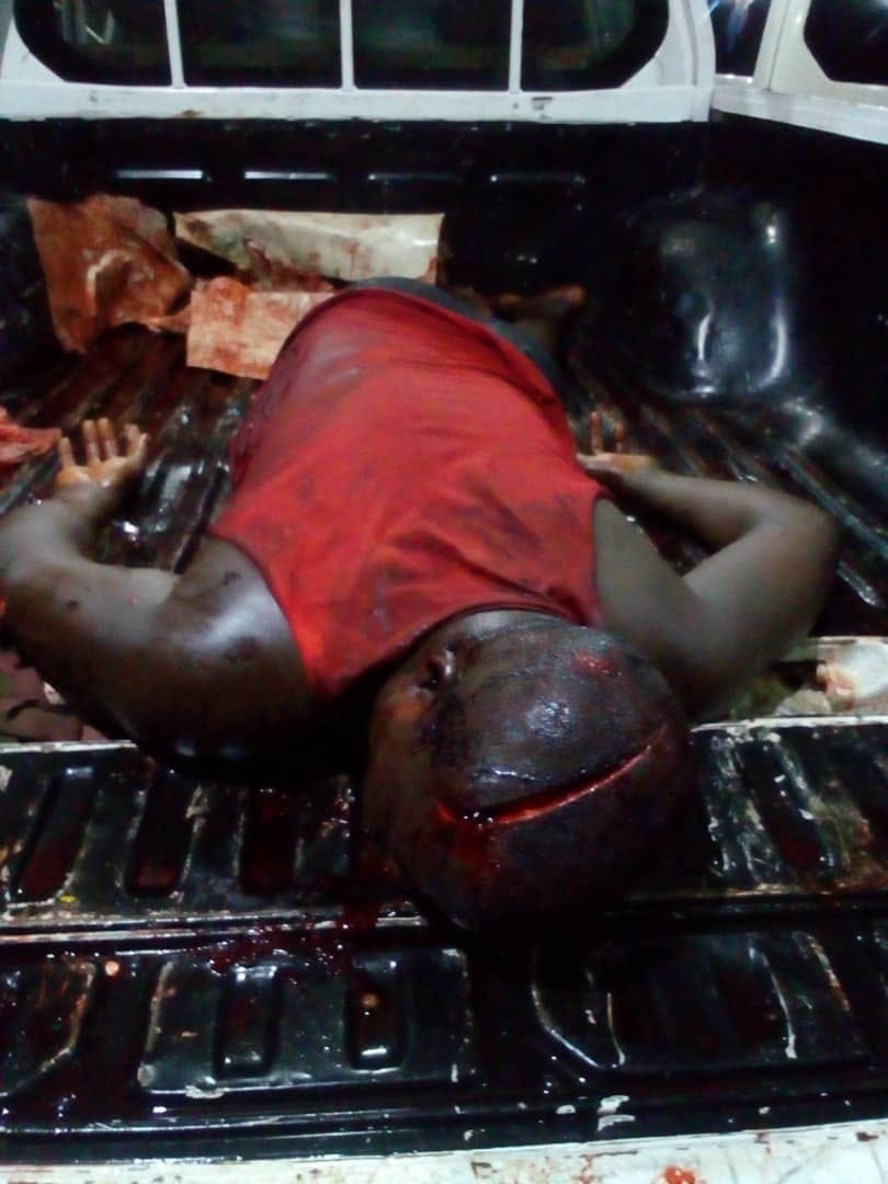 Suspected cultists hack man to death in Cross River (graphic photo)