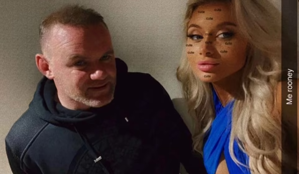 Video emerges of Wayne Rooney walking three women to a hotel despite telling police he was blackmailed after pictures of him asleep with them surfaced online