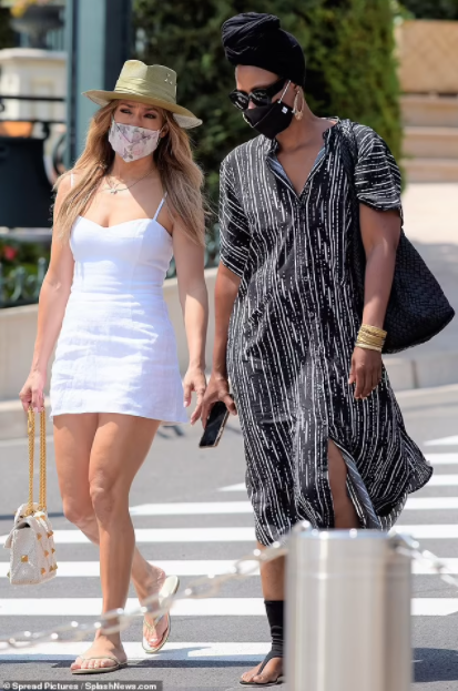 Jennifer Lopez steps out wearing a